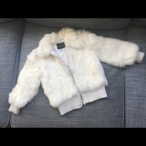 Other - Italian Made Vintage Rabbit fur coat